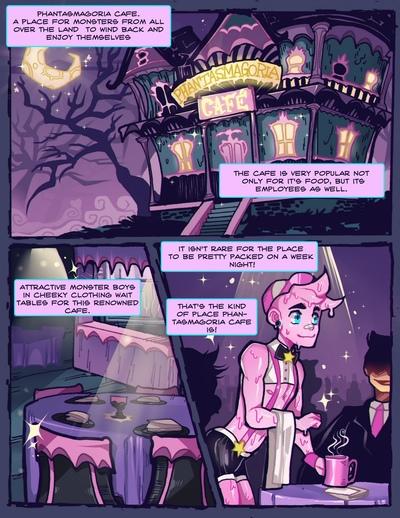 fantasmagorie café 1 - copains
