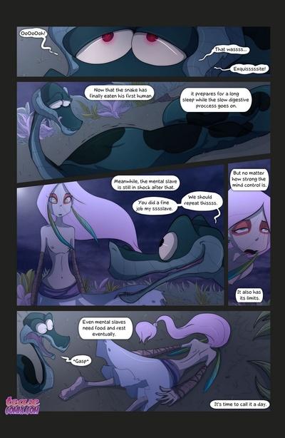 के के साँप और के लड़की 3