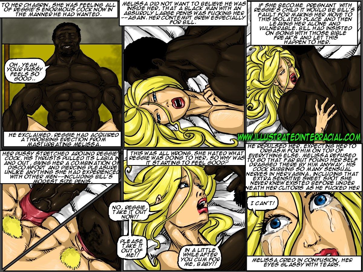 Illustrated interracial- New Parishioner - part 3