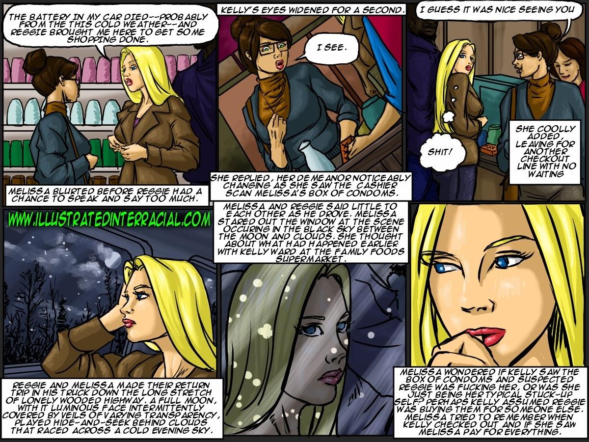 Illustrated interracial- New Parishioner - part 4