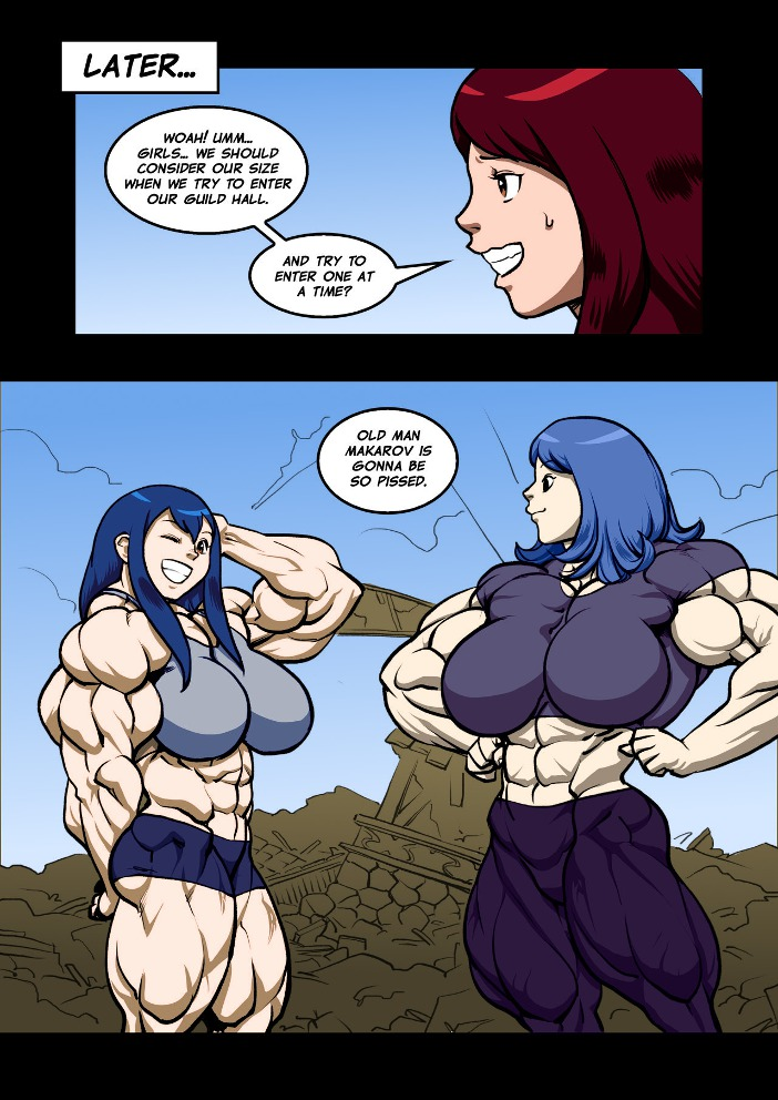 Magic Muscle (Fairy Tail) - part 5