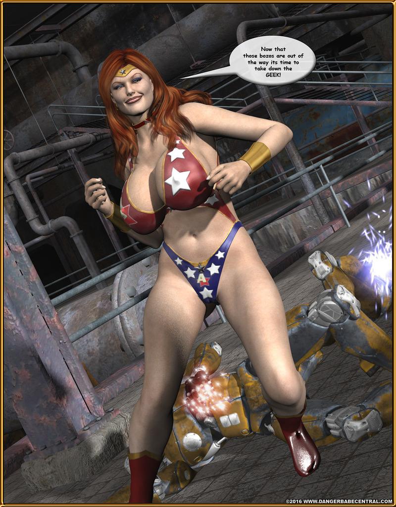 Alpha Woman- The Geek wins Day - part 3