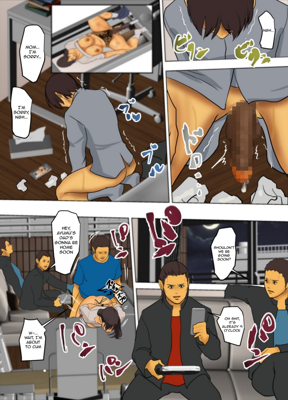 Sacrificial Mother 2- Hentai - part 6