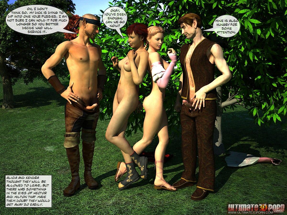 Alicia in the wonderland. Part 1 - part 3