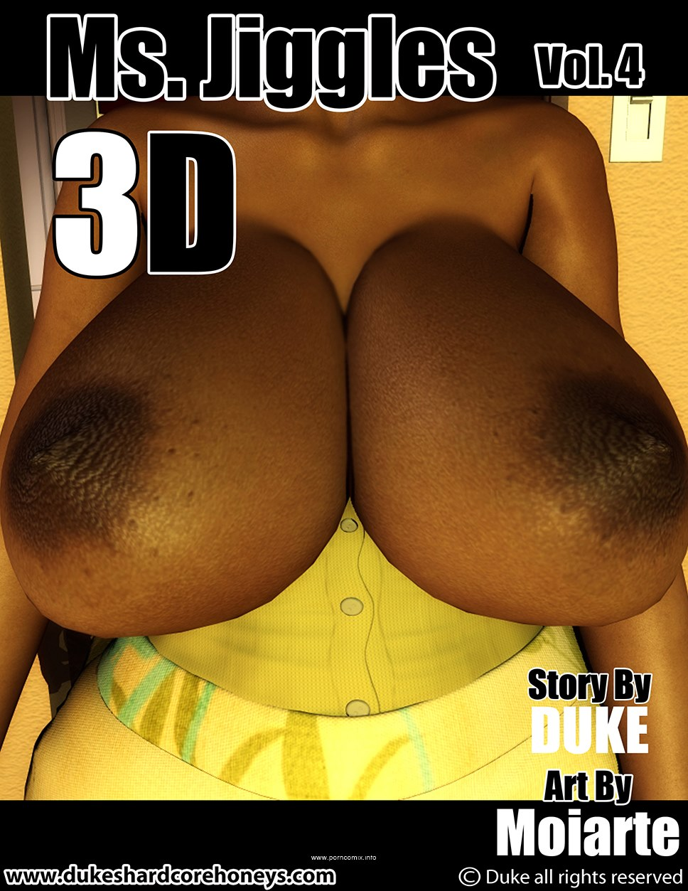 Ms Jiggles 3D - Part 4- Duke Honey