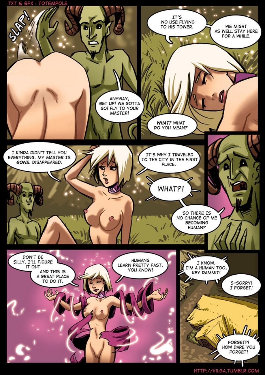 The Cummoner 2 - Witch Morwena