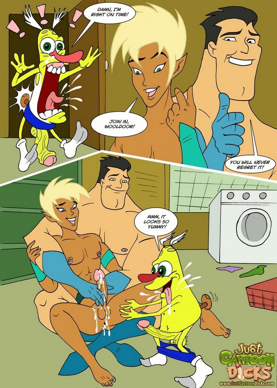 Comic gezeichnetes Geschlecht xxx