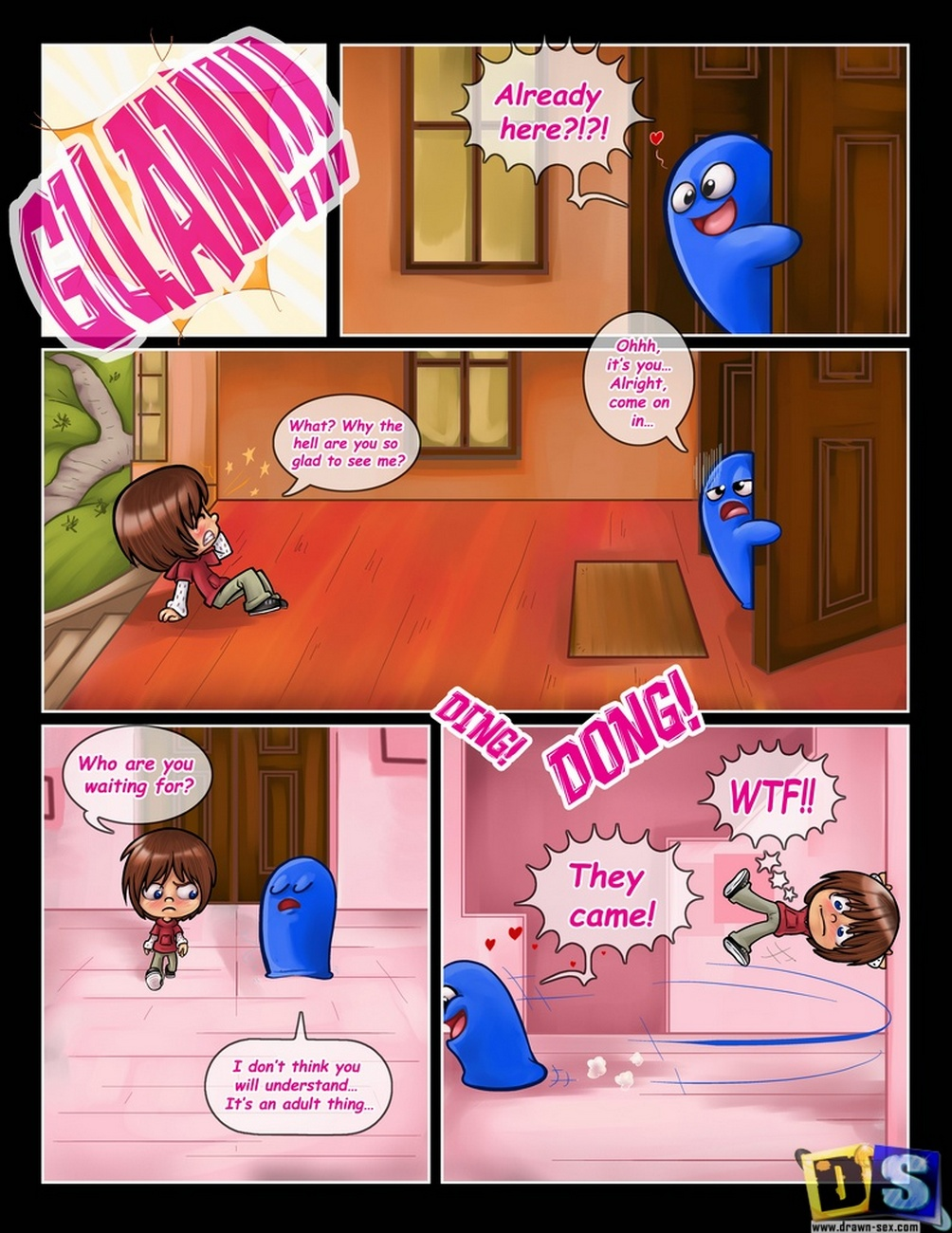Bloo\'s Party
