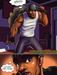 BlacknWhite- The Burglar