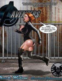 Smudge- Black Widow Vs The Hulk