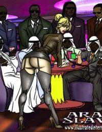 Arab Slave- illustrated interracial
