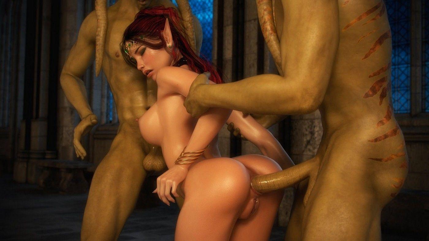 X3Z- Ruby, Lorelei, Syndory and Lara