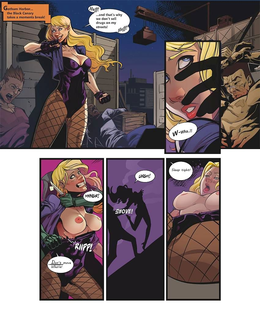 Pieexpress- Black Canary: Ravished Prey