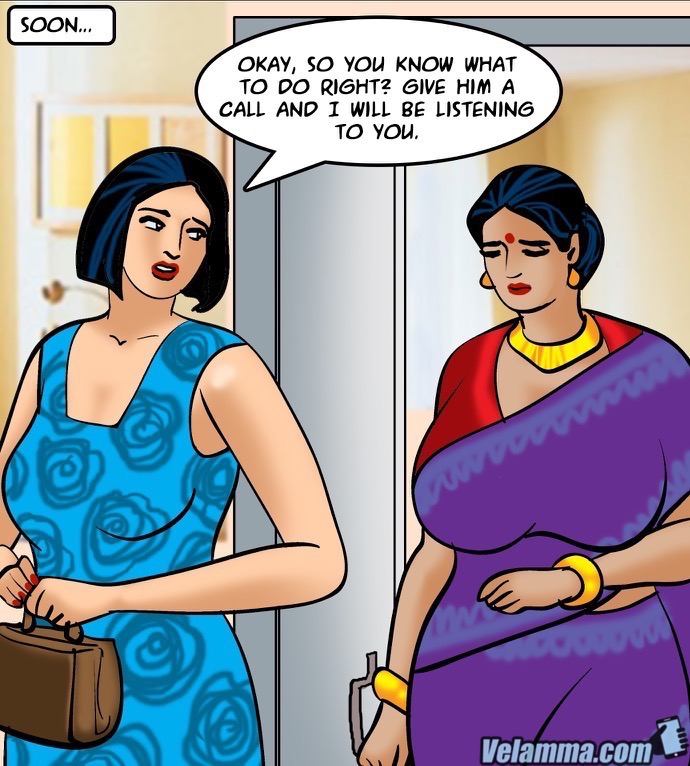 Velamma Episode 64- Blackmailed 2 - part 4