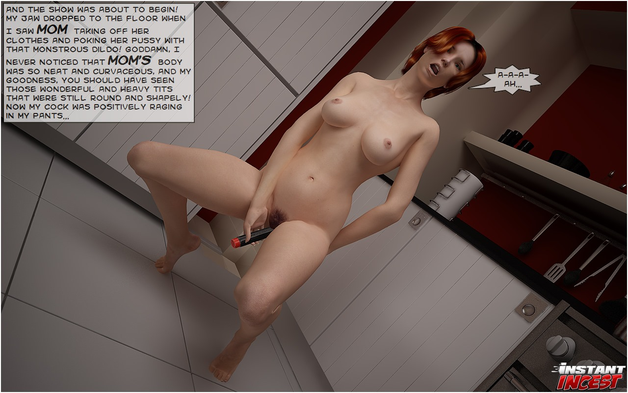Screwing mamma on kitchen floor- Instant Incest