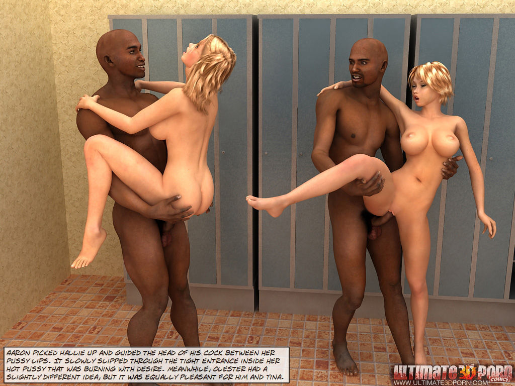 Steamy Encounter -Clester and Hallie get company - part 2