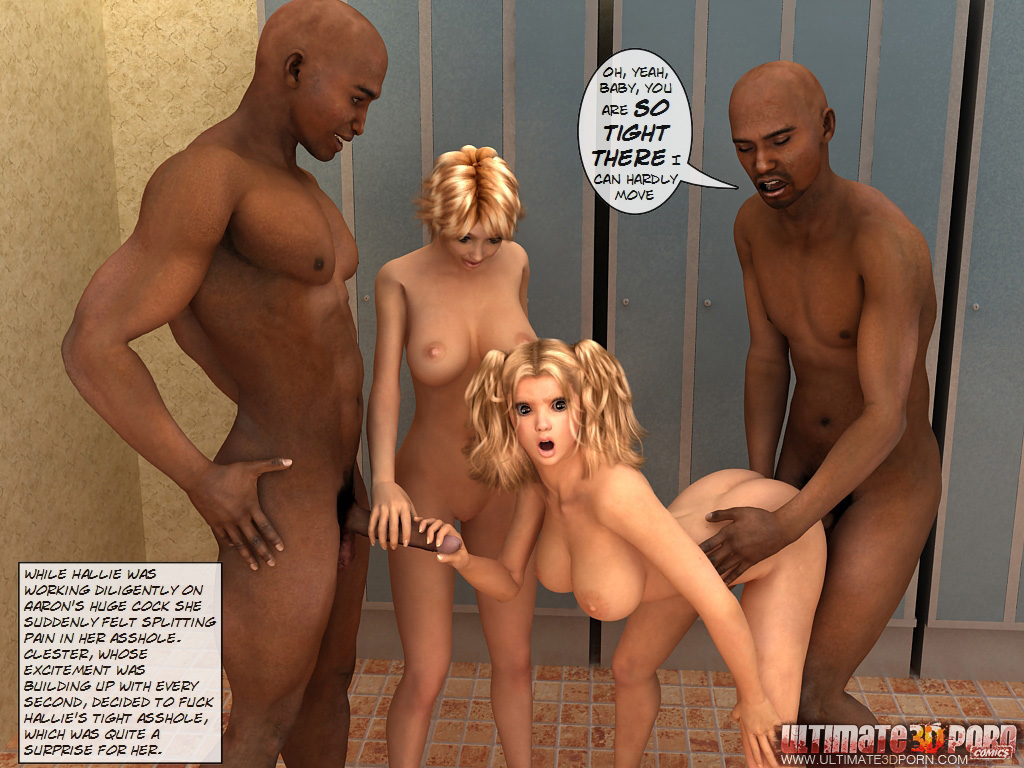 Steamy Encounter -Clester and Hallie get company - part 3