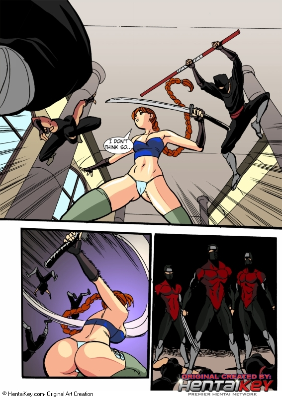 Hells Ninja 8 and 9- Hentai Key