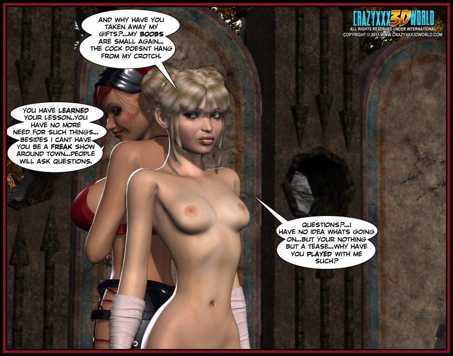 The Nymph 3- Carzyxxx3D World - part 2