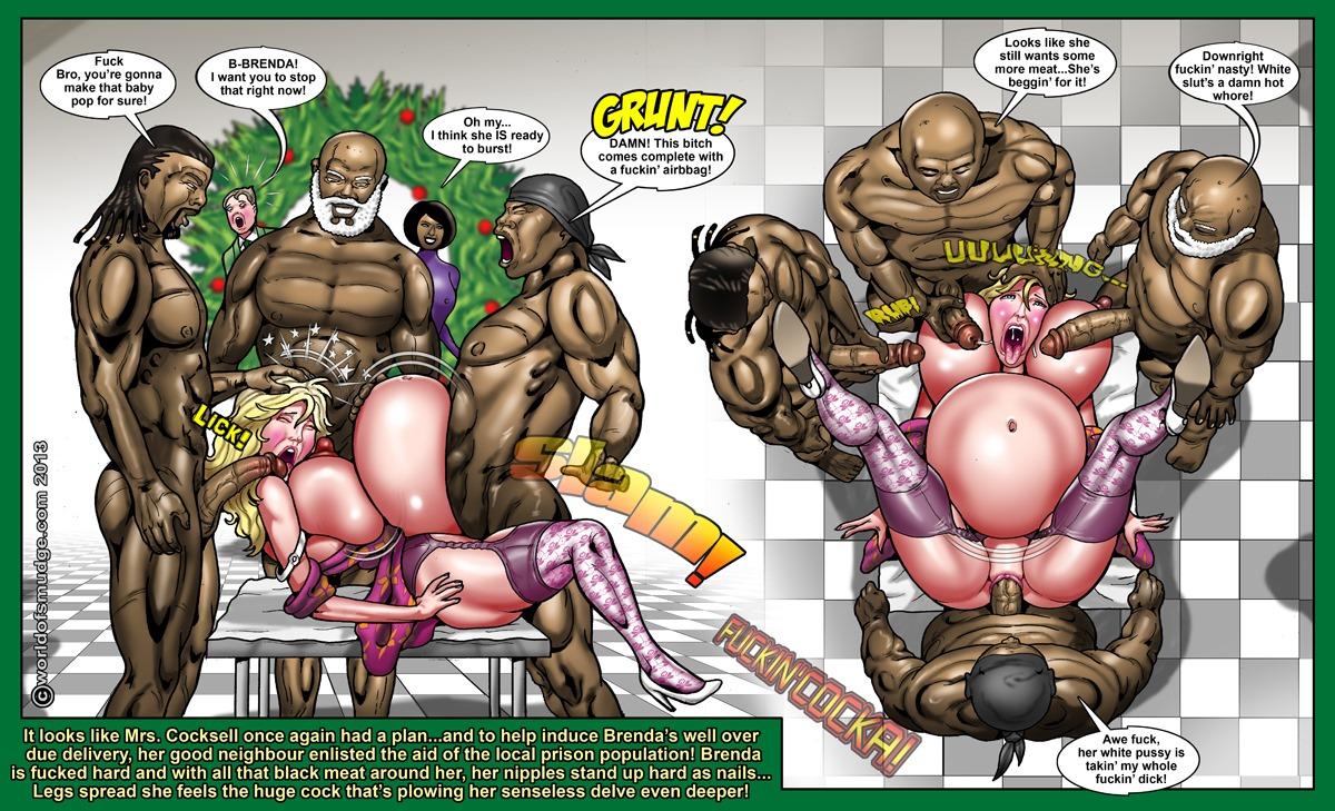 Big Tit Brenda- Christmas Conjugala (Smudge)