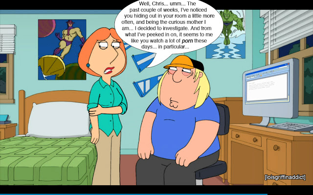 Lois Indulges a Family Foot Fetish