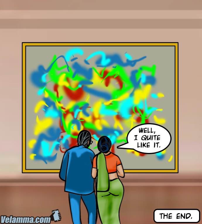 Velamma 62- A Piece of Art - part 12