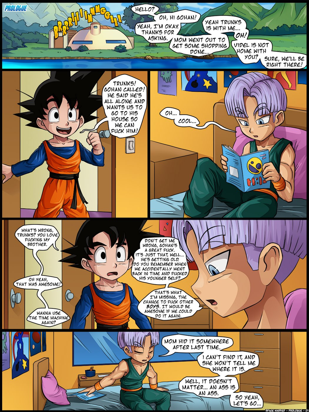 dragon ball sexgay
