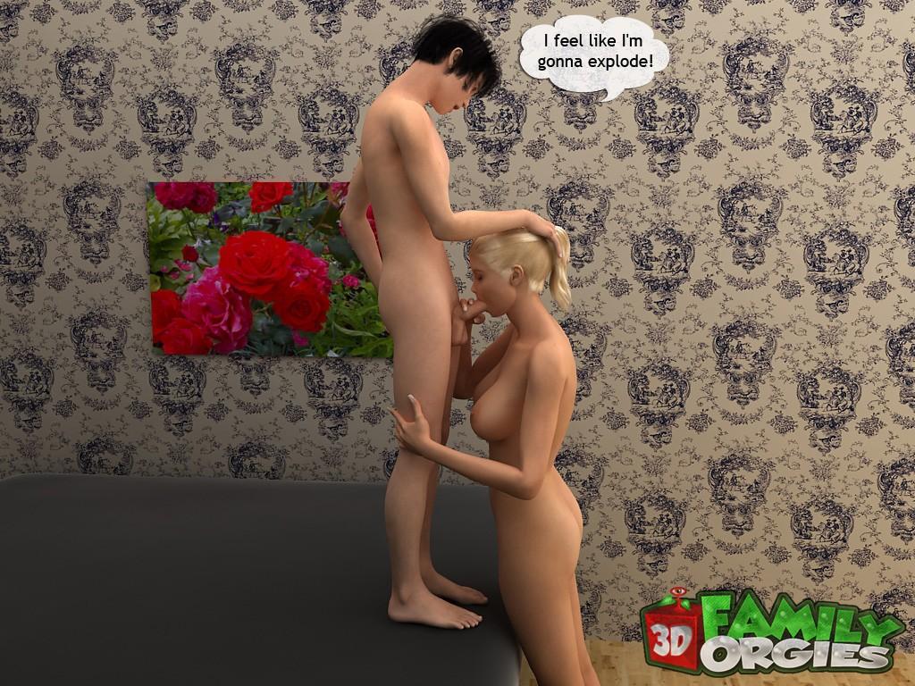 Sporty mom boned by son- Family Orgies - part 2