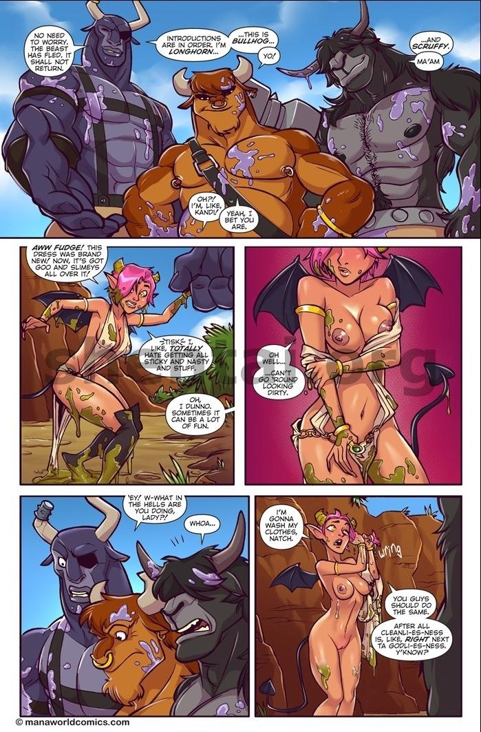 Taking Bull by Horn- Mana World