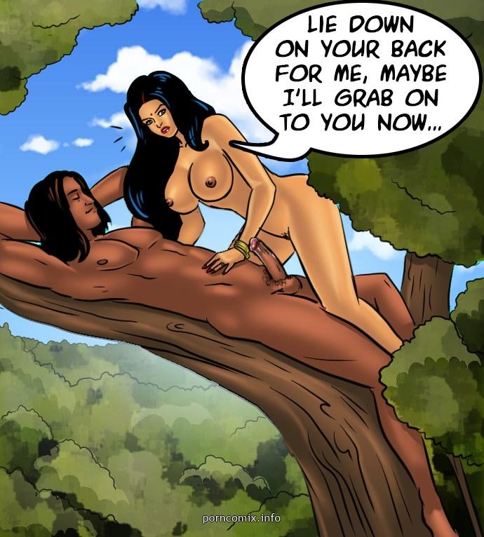 Savita Bhabhi 67- Jungle Love - part 13