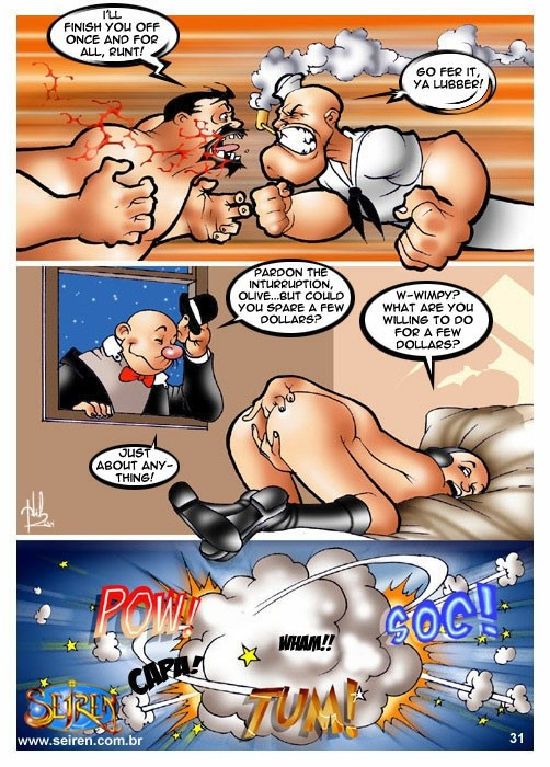 Popeye-The Dance Instructor - part 3