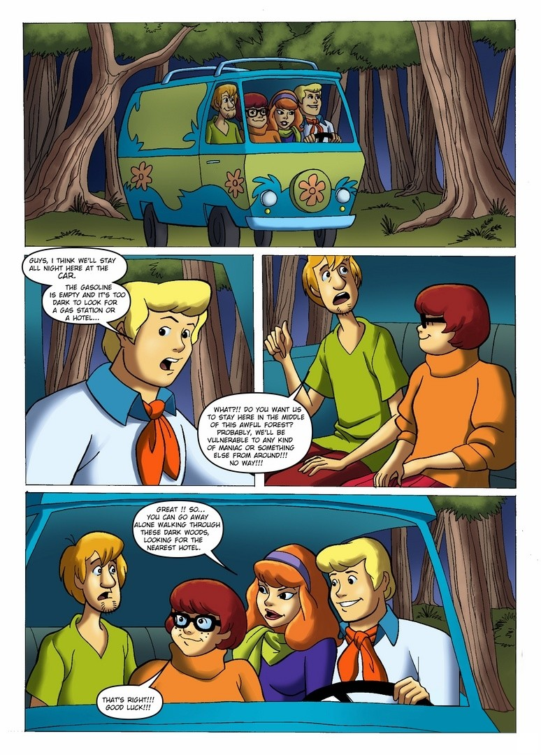 Scooby Doo-Night In The Wood