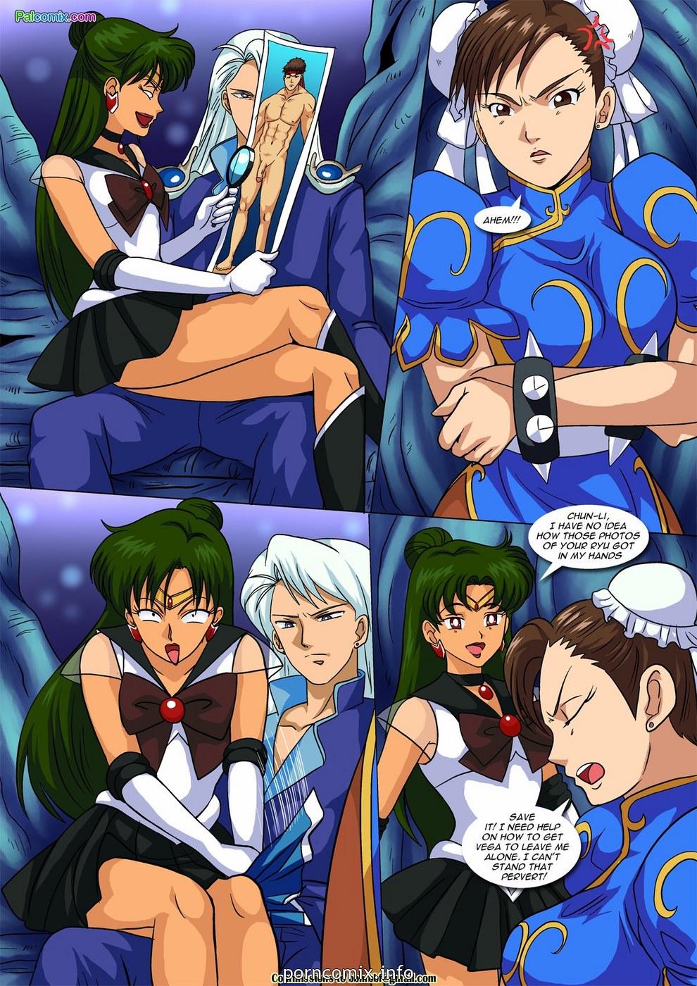 Vega vs Chun Li - Crotch Wars