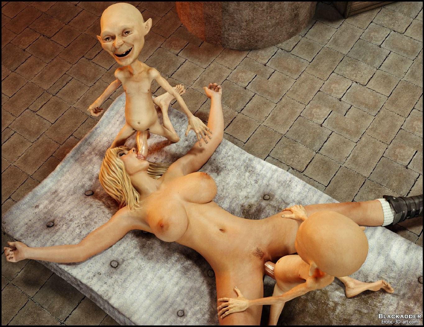 порно мультфильм монстро