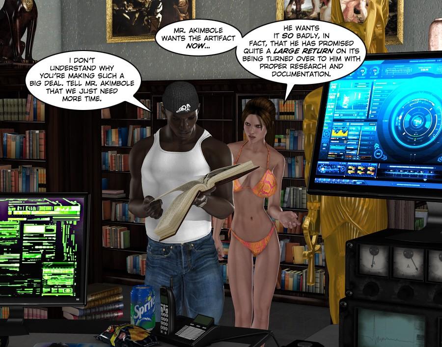 Lara Croft- Clara Ravens 1 - part 2