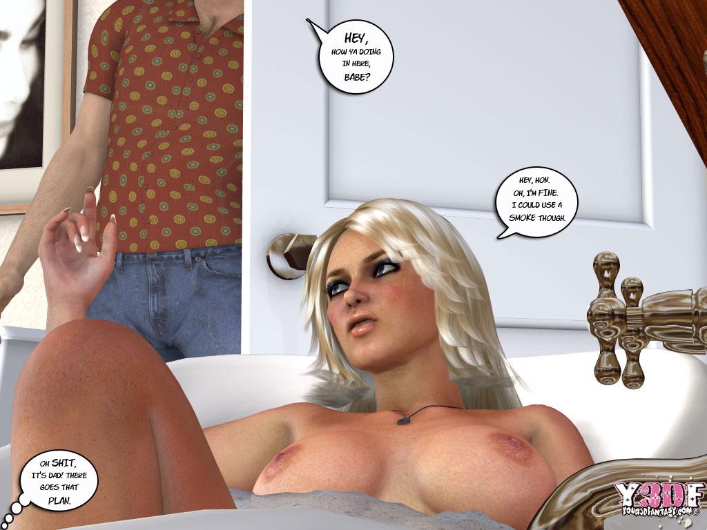 порно комикс весенняя пора все части