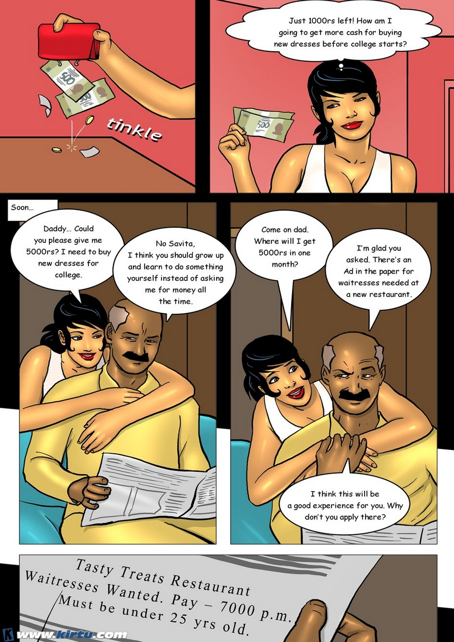 Savita at 18 3 - Savita\'s First Job