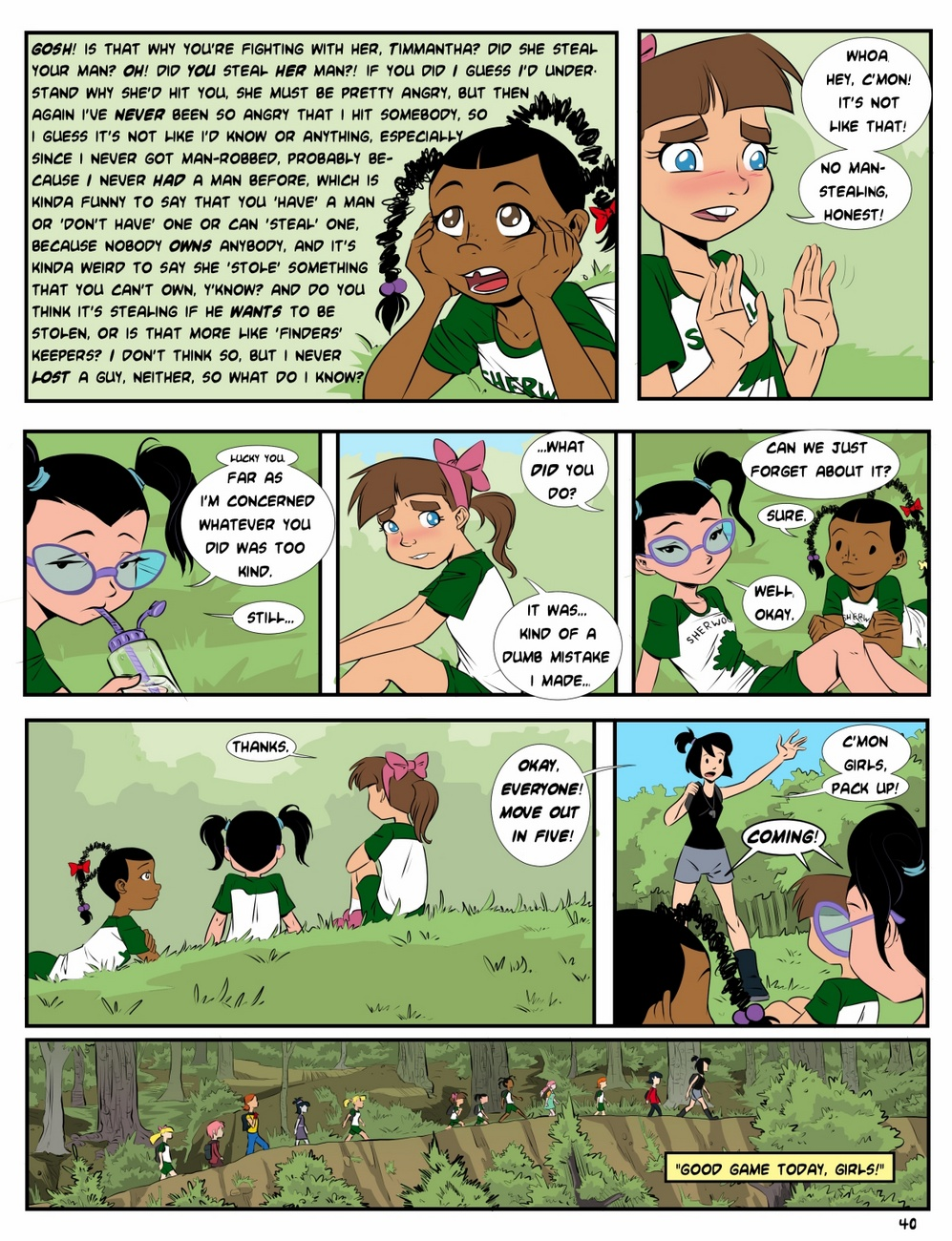 Camp Sherwood [Mr.D] (Ongoing) - part 3