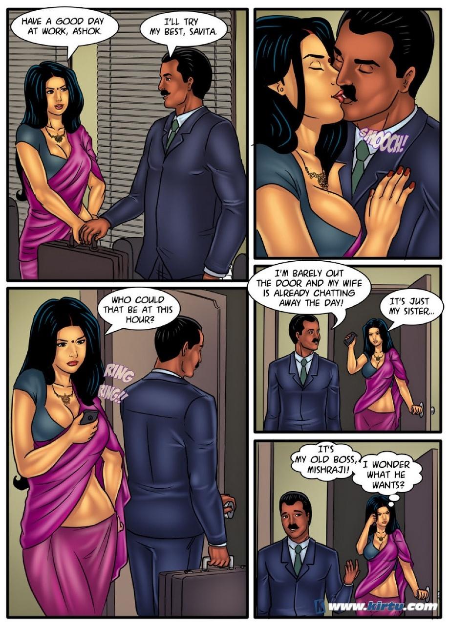 Savita Bhabhi 53 - Couple\'s Massage