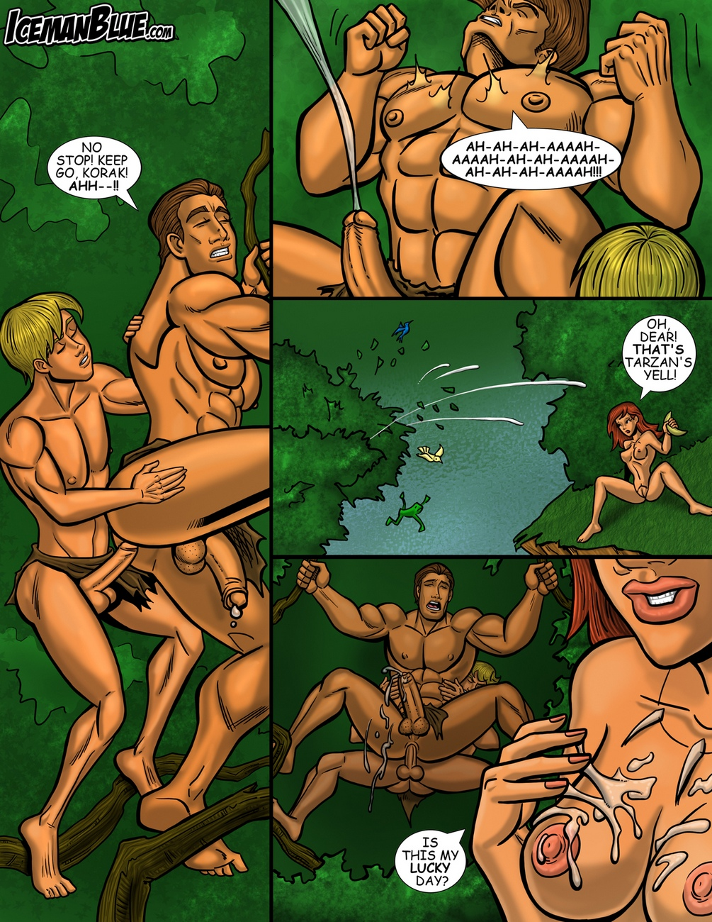 xxx cartoons gay comics