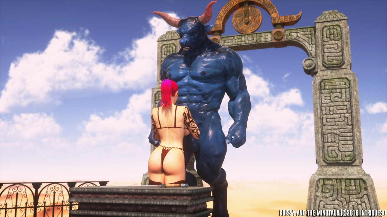 Krissy And The Minotaur - part 2