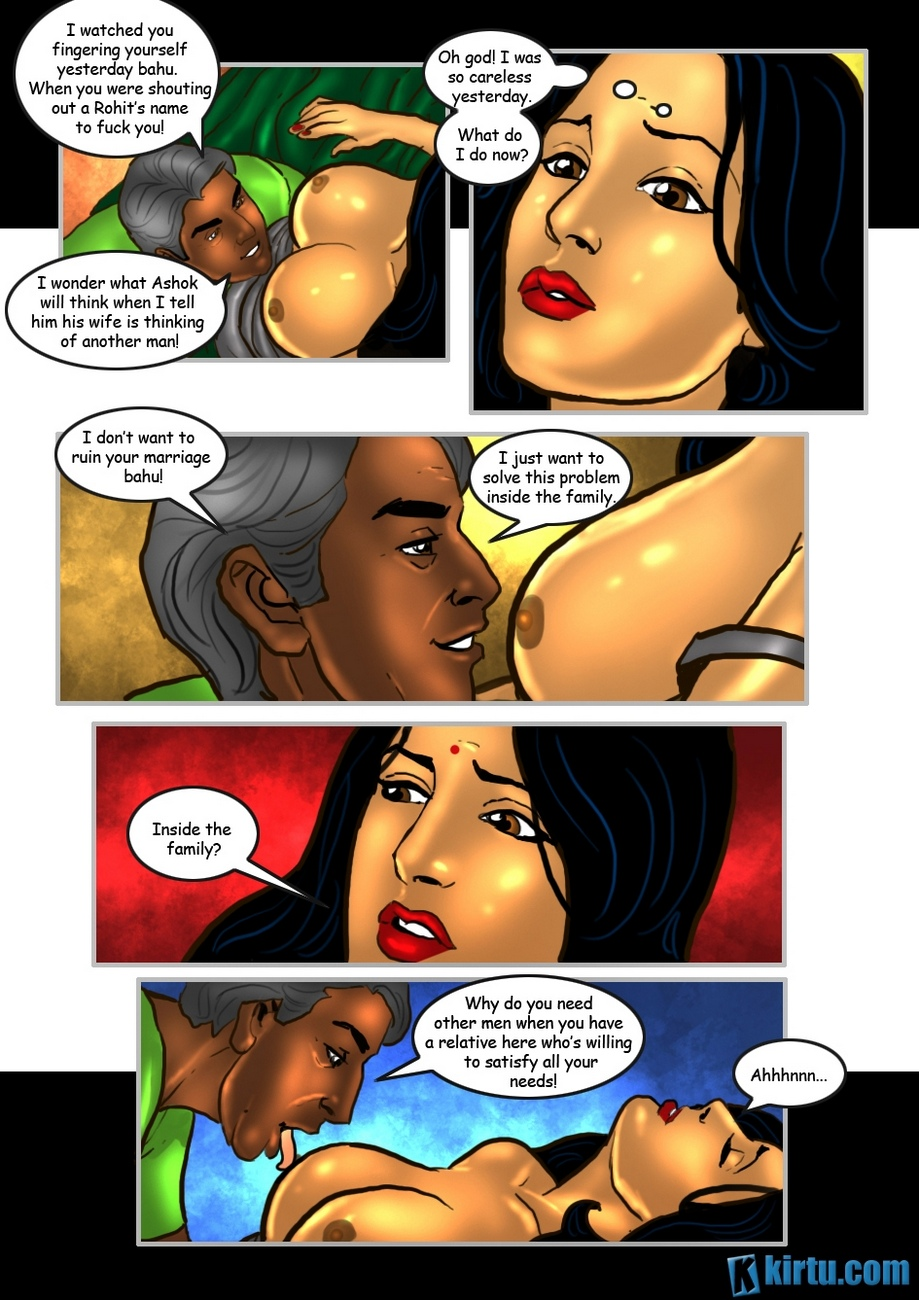 Savita Bhabhi 25 - The Uncle\'s Visit - part 2