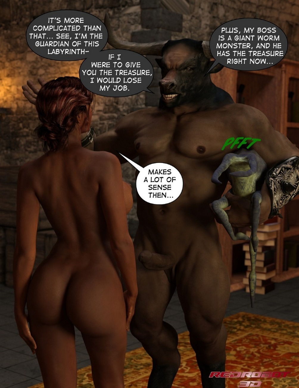 Escape From Lair Of The Minotaur - part 2