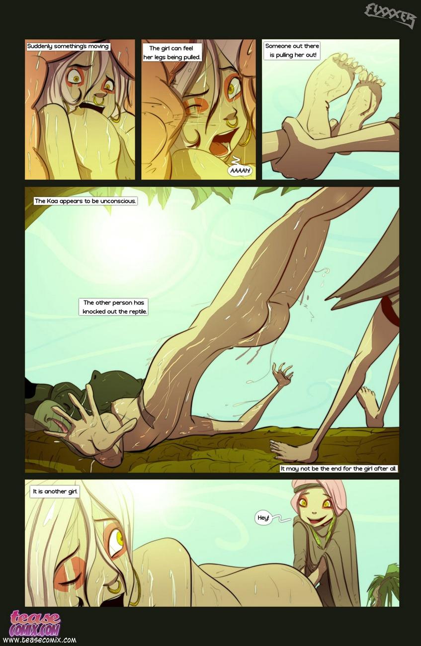 的 的 蛇 和 的 女孩 1 - 一部分 2