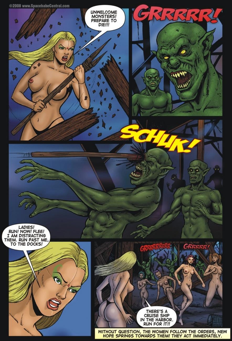 Cyborg Avenger 1-3