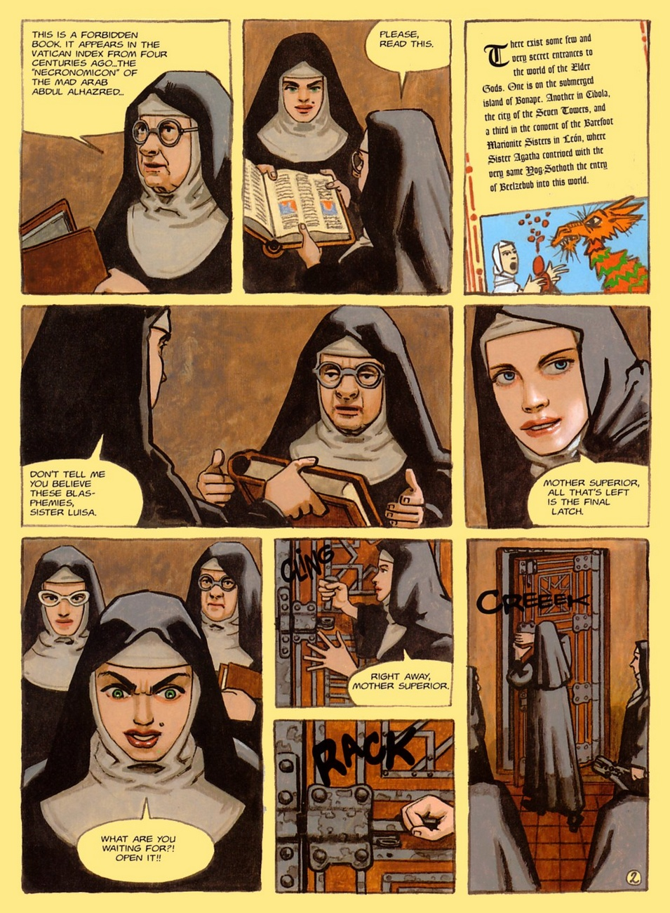 The Convent Of Hell - part 2