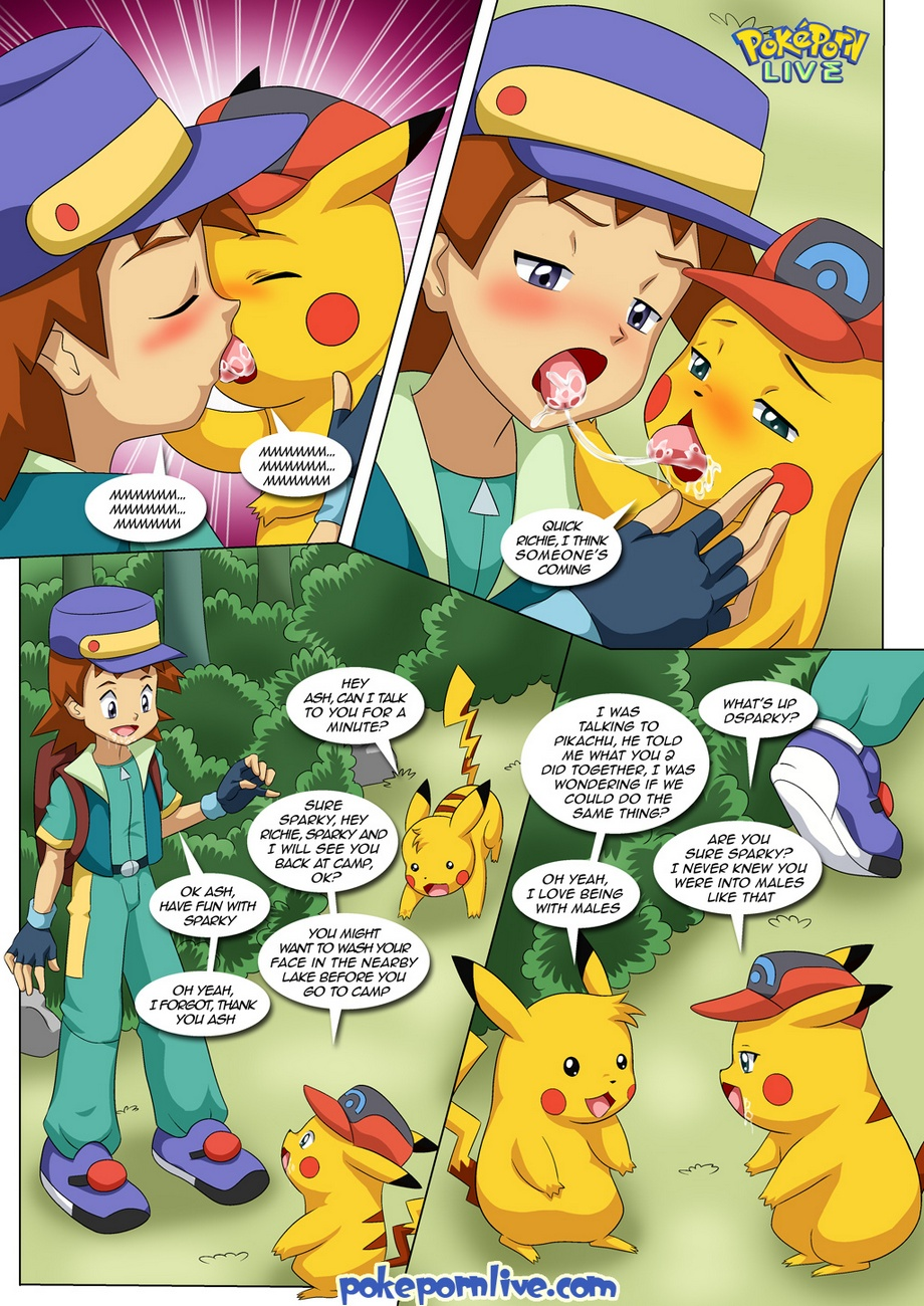 Gay Ash Pokemon Porn with the new adventures of ashchu 2 - part 6 at x sex comics