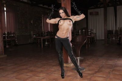 Stunning Karyn reveals her amazing body in a jaw dropping solo play - part 2