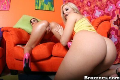 Sexy lesbians Brianna Love and Alexis Texas stripping together - part 2