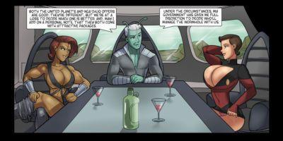 [Rabies T Lagomorph (Entropy)] Galaxy Jaunt - Episode 1 (Star Trek) - part 2